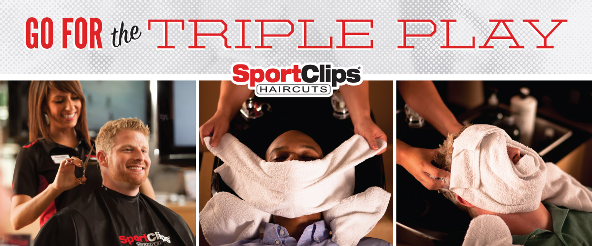 The Sport Clips Haircuts of Caledonia  Triple Play